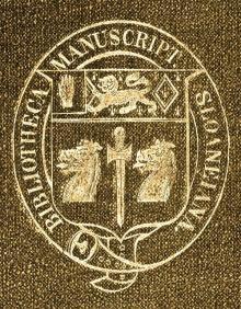 Sloane, Hans, Sir, Baronet, of Chelsea (1660 - 1753) (Stamp 1)