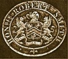 Smith, Robert John, 2nd Baron Carrington  (1796 - 1868) (Stamp 1)