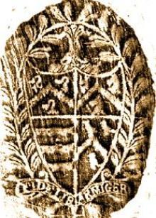 Squire, Scipio (1579-1659)  (Stamp 1)