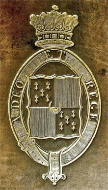 Stanhope, Charles, 3rd Earl of Harrington  (1753 - 1829) (Stamp 1)