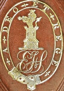 Stanhope, Edwyn Francis, Sir, 2nd Baronet (1793 - 1874) (Stamp 1)