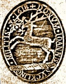 Suckling, John, Sir (1569 - 1627) (Stamp 1)