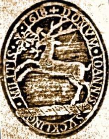 Suckling, John, Sir (1569 - 1627) (Stamp 1)