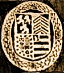 Thorold, William, Sir, 1st Baronet, of Marston  (1591 - 1677) (Stamp 1)