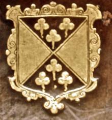 Tresham, Lewis, Sir, 1st Baronet, of Rushton (Stamp 1)