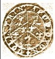 Trinity College Oxford (Stamp 1)