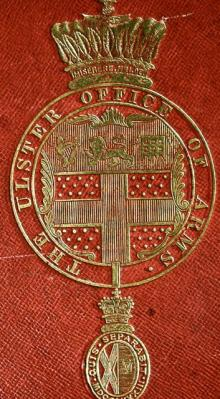Ulster Office of Arms (Stamp 1)