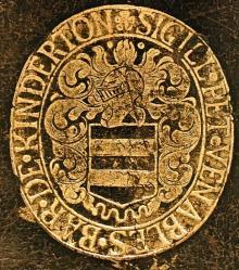 Venables, Peter, Baron de Kinderton  (1604 - 1669) (Stamp 1)