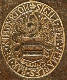 Venables, Peter, Baron de Kinderton  (1604 - 1669) (Stamp 2)