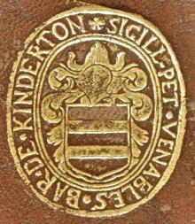Venables, Peter, Baron de Kinderton  (1604 - 1669) (Stamp 3)