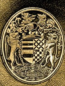 Vernon, George John Venables, 5th Baron Vernon  (1803 - 1866) (Stamp 2)