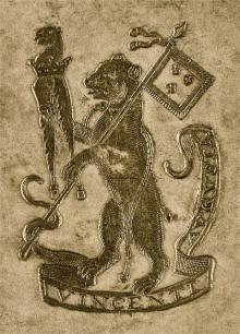 Vincent, Augustine (Stamp 1)