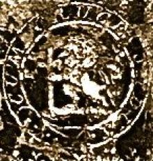 Wale, Robert Gregory (1820 - 1892) (Stamp 1)