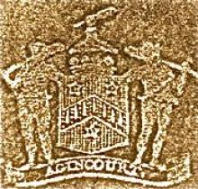 Wodehouse, John, 1st Earl of Kimberley (1826 - 1902) (Stamp 1)