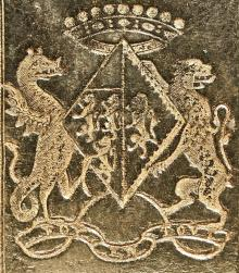 Yelverton, Barbara, Viscountess de Longueville (1665 - 1763) (Stamp 1)